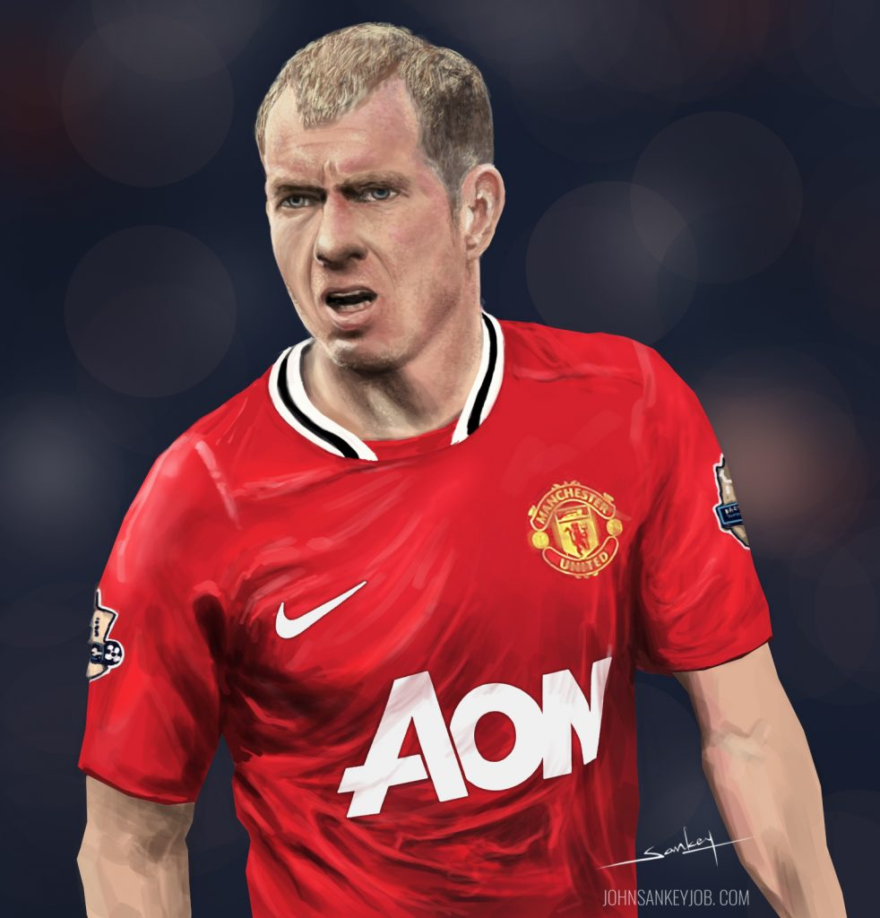 Paul Scholes Digital Painting