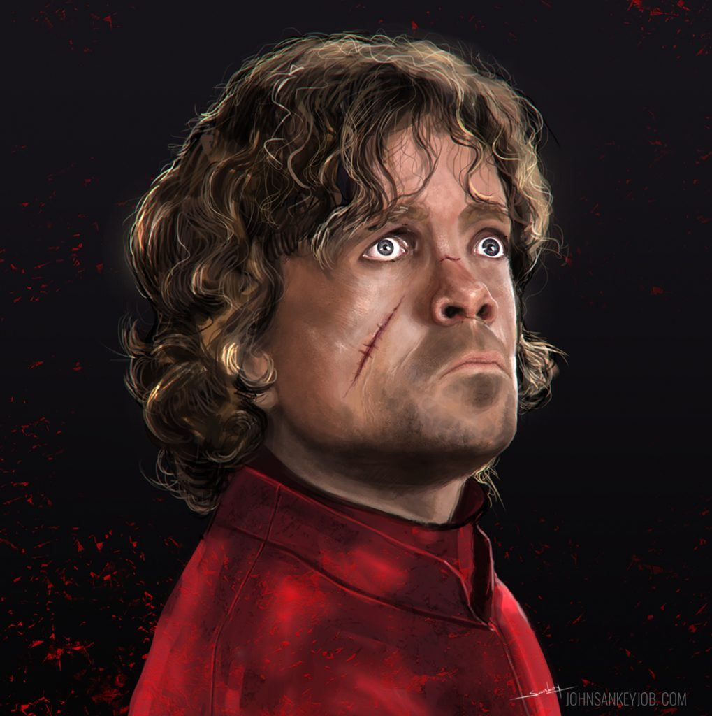 tyrion - Peter Dinklage - digital painting